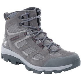 Jack Wolfskin Vojo 3 Texapore Mid Shoes Women, tarmac grey/pink